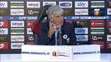 """21/10/2014 - Genoa, Gasp che sfogo: """"Se sono io il problema vado via"""""""