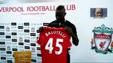 23/10/2014 - Balotelli e le sue maglie, dall'Inter al Liverpool