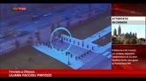 Ottawa, attacco attentatore in video diffuso da polizia