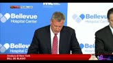 24/10/2014 - Medico positivo a ebola a NY, De Blasio: nessun allarme
