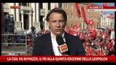 25/10/2014 - Manifestazione a Roma contro Jobs Act e legge di Stabilità