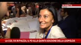 Quinta edizione Leopolda, intervista ad Alessia Morani