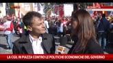25/10/2014 - Fassina in piazza Cgil: qui c'è un pezzo importante del Pd