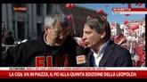 """25/10/2014 - Roma, Landini: """"Pronti allo sciopero generale"""""""