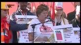 25/10/2014 - CGIL contro politiche Governo, intervento di Camusso
