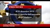 27/10/2014 - Stress test Bce, Mps e Carige non superano la prova