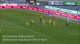 Radovanovic atterra Bertolacci: il Chievo resta in 10