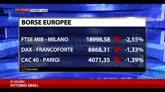 27/10/2014 - Mercati europei deboli, male MPS e Carige