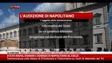 27/10/2014 - Stato-Mafia, domani l'udienza di Napolitano al Colle