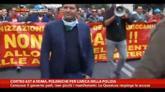 29/10/2014 - Corteo Ast Roma, polemiche per carica della polizia