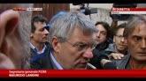 29/10/2014 - Ast, Landini: non si possono attaccare i manifestanti