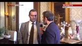 """30/10/2014 - Napoli, De Magistris torna sindaco: """"E' un bel giorno"""""""