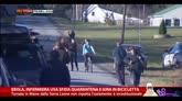 30/10/2014 - Ebola, infermiera Usa sfida quarantena e gira in bicicletta