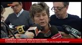 30/10/2014 - Scontri Ast, Camusso: spero passi avanti