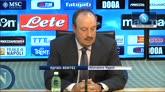 """31/10/2014 - Benitez: """"Napoli-Roma deve essere la festa del calcio"""""""
