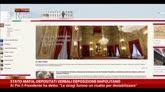 31/10/2014 - Napolitano: la mafia voleva destabilizzare lo Stato