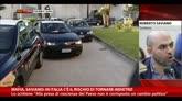 10/11/2014 - Mafia, Saviano: in Italia c'è rischio di tornare indietro