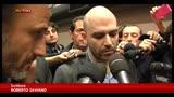 10/11/2014 - Saviano: riconosciuta minaccia, parole fanno paura ai clan