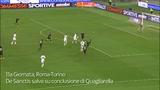 Leali è un gatto. Rafael nega il gol a Vidic