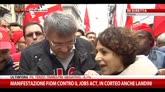 14/11/2014 - Corteo FIOM-CGIL a Milano, le parole di Maurizio Landini