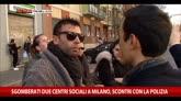 Scontri a Milano, parlano gli sgomberati