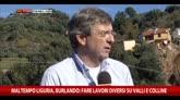Maltempo Liguria, Burlando: fare lavori su valli e colline