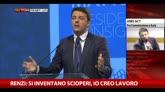 20/11/2014 - Renzi: recuperati 153 mila posti di lavoro, non mi basta