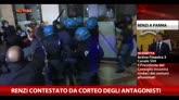 Parma, Renzi contestato da corteo degli Antagonisti