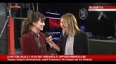 20/11/2014 - X Factor, Alessandra Mastronardi nel backstage