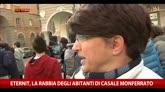 Eternit, la rabbia degli abitanti di Casale Monferrato