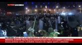 Messico, scontri durante proteste per gli studenti scomparsi