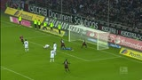 Borussia Moenchengladbach-Eintracht Francoforte 1-3