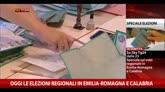 23/11/2014 - Urne aperte oggi per elezioni in Emilia-Romagna e Calabria
