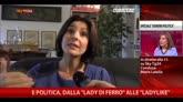 """Donne e politica, dalla """"lady di ferro"""" alle """"Ladylike"""""""