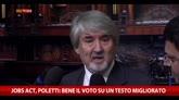 25/11/2014 - Jobs Act, Poletti: bene il voto su un testo migliorato