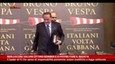 Berlusconi: Salvini ottimo bomber e io potrei fare regista