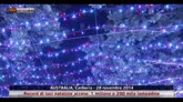 Canberra, record luci natalizie accese: 1.200.000 lampadine