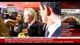 "29/11/2014 - Marine Le Pen a SkyTG24: ""Salvini mi manda in estasi"""