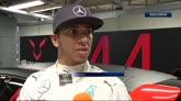 Hamilton al rally di Monza