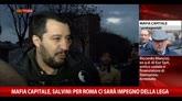 07/12/2014 - Mafia Capitale, Salvini: Per Roma ci sarà impegno Lega Nord