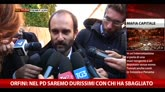 08/12/2014 - Mafia Capitale, le dichiarazioni di Orfini e Cuperlo