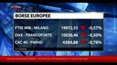 08/12/2014 - Borse Europee deboli, su Piazza Affari pesa il taglio di S&P