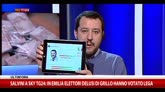 "Salvini: ""Il referendum M5S è una presa in giro"""