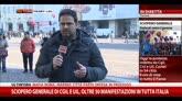 12/12/2014 - Sciopero generale, Torino: scontri tra autonomi e polizia
