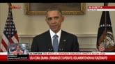 17/12/2014 - Cuba, Obama: embargo superato, isolamento non ha funzionato