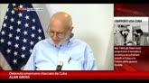 18/12/2014 - Cuba, Alan Gross ringrazia Obama