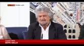 """Grillo: """"Napolitano ha gravissime responsabilità"""""""