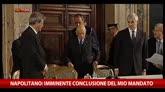 Napolitano: coraggioso sforzo riformatore del governo