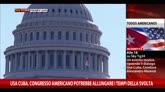 19/12/2014 - Cuba, congresso americano potrebbe allungare tempi svolta