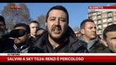 Salvini: mi piacerebbe confrontarmi con Renzi su Sky